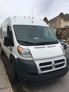 Ram Promaster 3500 High Roof - extended
