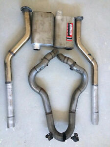 "Custom Flowmaster 3"" True Dual Complete Exhaust System"