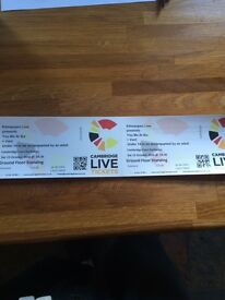 You Me At Six tickets x 2