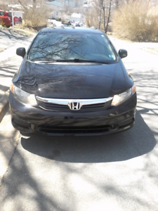 2012 Honda civic EXL. Fully loaded with navigation