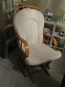 Glider Chair with 2 piece Cushions -- $100