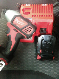 18V Impact + Charger + 1 battery