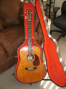 RARE , VINTAGE 1985 SIGMA / MARTIN SDR12-28HD ACOUSTIC ELECTRIC