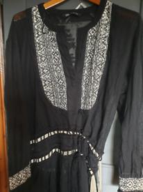Zara hippy boho dress 14