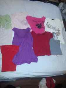 Variety of womens clothing