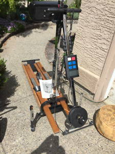 Vintage Exercise equipment, original Nordic Trac Ski machine