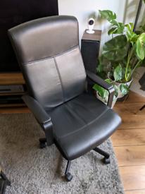 IKEA MILLBERGET office chair black