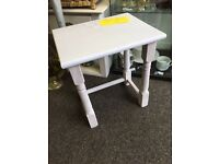Shabby chic occasional small table in wisteria