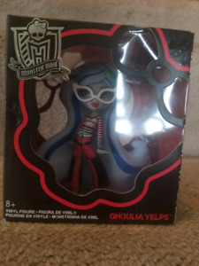 4 Monster High Vinyl Figures