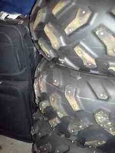 ATV Studed tires and rims  ((((REDUCED))))
