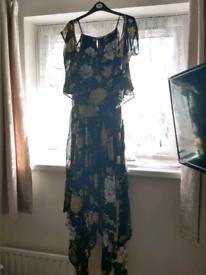 Black/Multi Dress Size 22