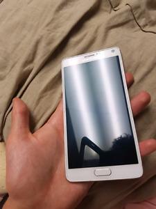 Galaxy Note 4  glacier white. 32gb