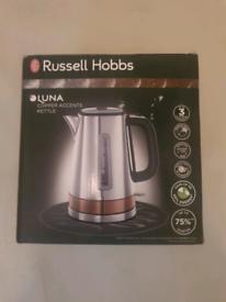 Brand new russell hobbs luna copper kettle