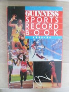 1985-86-GUINESS SPORTS RECORD BOOK-Hardcover Edition.
