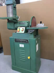 Belt sander and disc sander