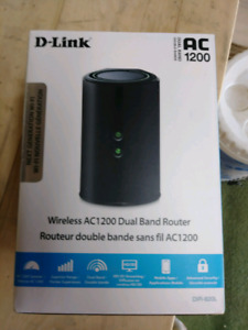 D-Link AC 1200 Dual Band Wifi Router