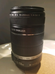 Canon efs 55-250 f4-5.6 IS