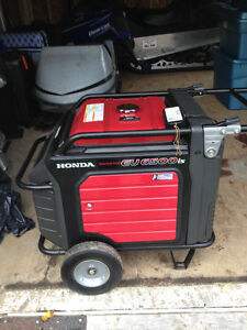 6400 watt Honda Generator with remote and 60 ft of wire