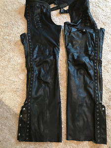 Ladies Destitute Leather Harley Davidson Chaps - $300 OBO