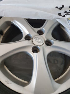205/50r16 rims Hyundai Rims   Set of 4