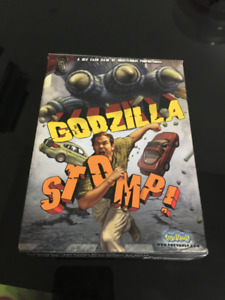 Godzilla STOMP! card table top game, great stocking stuffer!