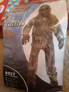 Kids Zombie Skeleton costume.