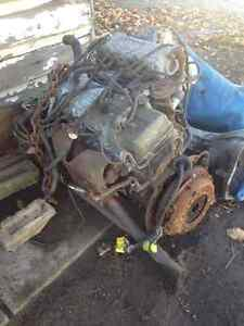 motor and transfer case