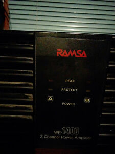 Ramsa Panasonic wp-1400 Amplifier Kingston Kingston Area image 1