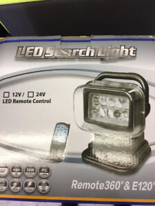 NEW LED REMOTE CONTROL SEARCH LIGHT