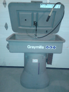 laveuse piece Graymills commercial water based heated parts