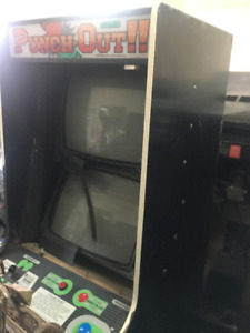 Project Punch-Out Arcade Machine Cabinet Not Pinball
