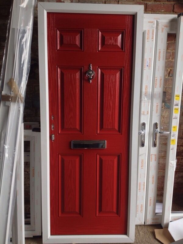 For sale brand new composite double glazed door in for Double doors for sale