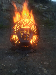 Christmas Special! -- Fireball fire pits