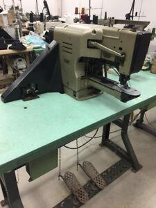 PHAFF 3336 BAR TACKER TACKING SEWING MACHINE