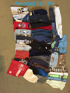 12-18m clothing -assorted