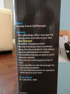 Brand New US Jaclean Shiatsu Full Leg Massager With Heat Kitchener / Waterloo Kitchener Area image 6