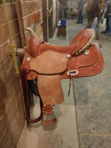 Billy Cook Barrel Saddle