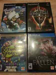 Video games PS4 PS3 PS2 PSP Wii 3DS DS 360 N64