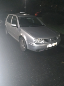 VW golf GTDI silver 1.9 6 speed silver breaking for spares all parts a