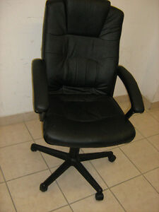 Comfortable Jet Black Adjustable Office/ Computer  Chair