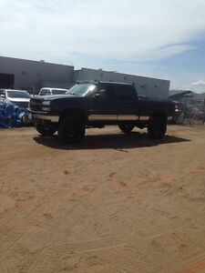 2003 Chevy Silverado 1500HD Lifted