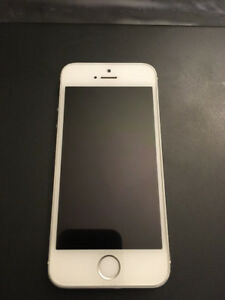 $160 · Iphone 5s white - 16GB (Rogers)