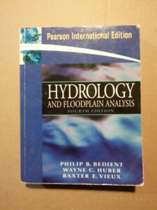Hydrology and Floodplain Analysis - 4th Edition
