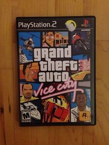 Ps2 game Grand theft auto vice city