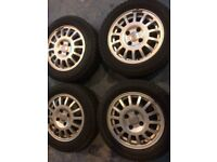 Winter tyres & alloys Ford fitment