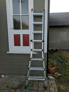 Ladder 17 feet with articulayed joint