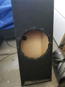 MDF subwoofer box (15 inch opening)