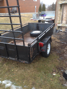 4' X 8' UTILITY TRAILER FOR SALE