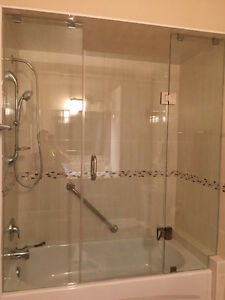 Glass Shower Door $150!  Sliding Shower Doors $229 only!