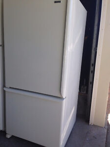 FREE Delivery,  White fridge bottom freezer  in Mint Condition